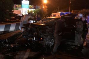 Новости Днепра про Серьезное ДТП под Днепром: авто смяло, есть пострадавшие