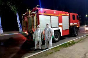 Спасатели продолжают мероприятия по противодействию распространения COVID-19 на территории Днепропетровской области. Новости Днепра