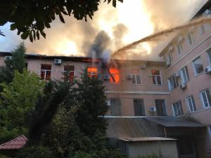 Общая площадь возгорания составила 400 метров квадратных. Новости Днепра