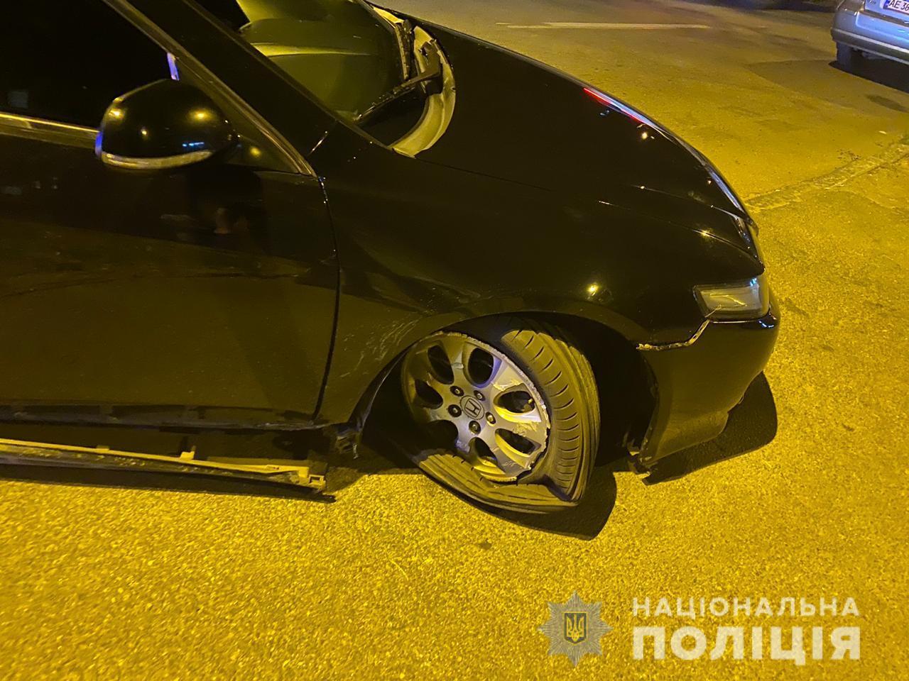В Днепре полицейские задержали гонщика. Новости Днепра