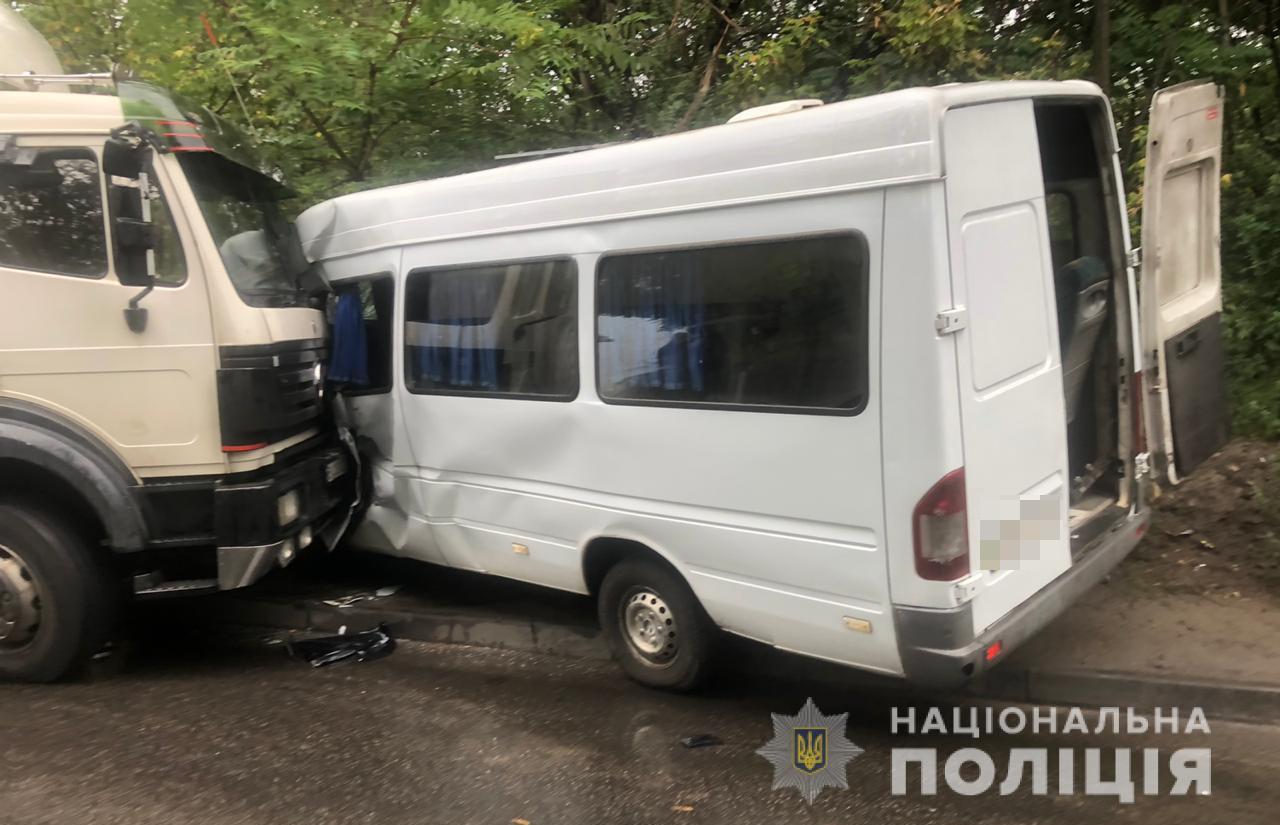В результате аварии пострадали 7 человек. Новости Днепра
