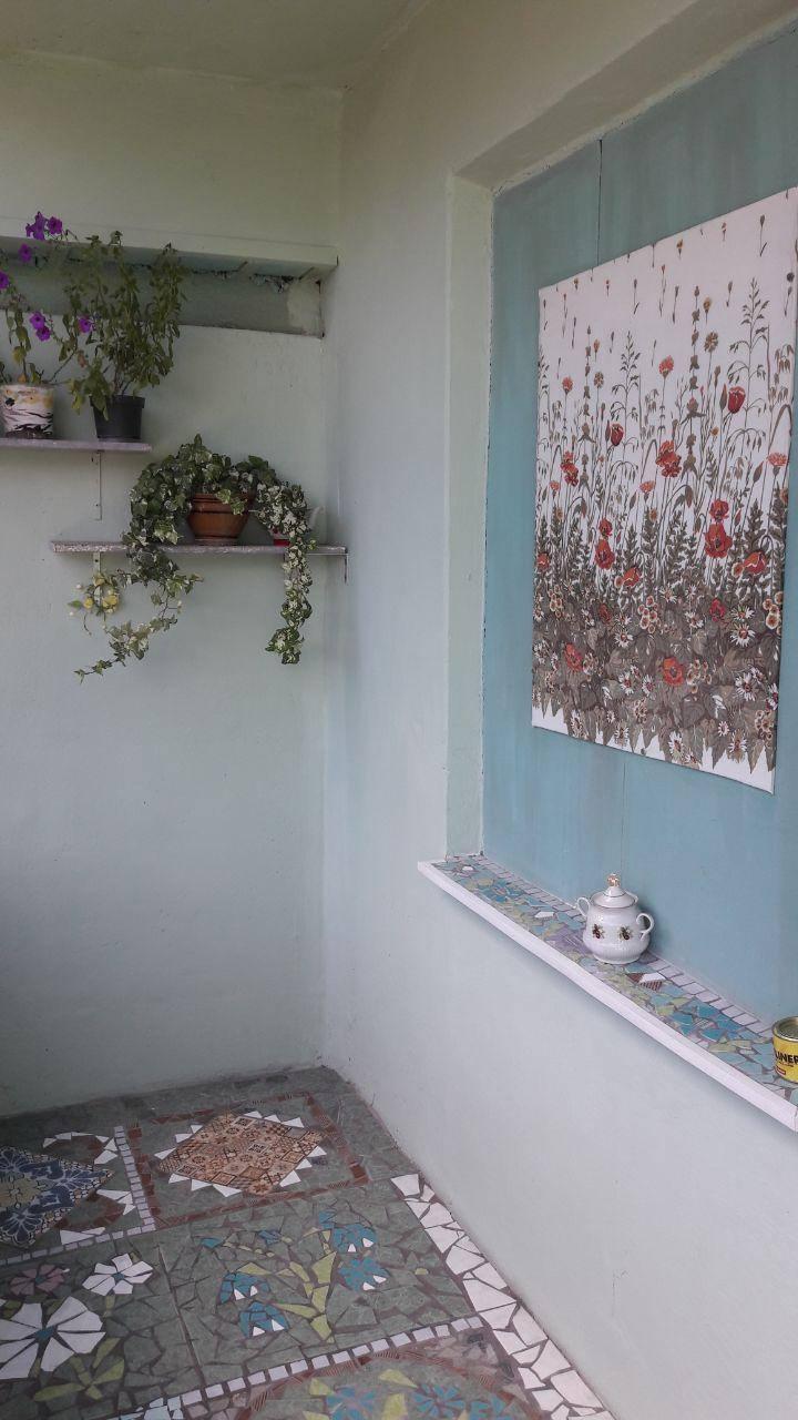 Жительница дома создала шедевр на общем балконе. Новости Днепра