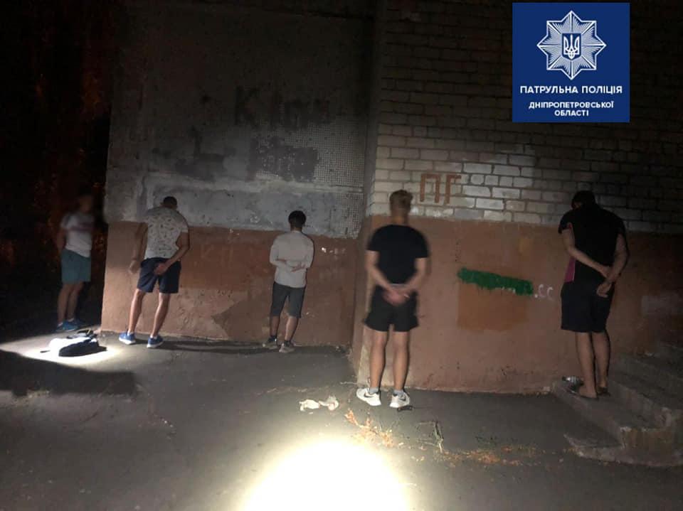 В Днепре полицейские задержали преступников. Новости Днепра