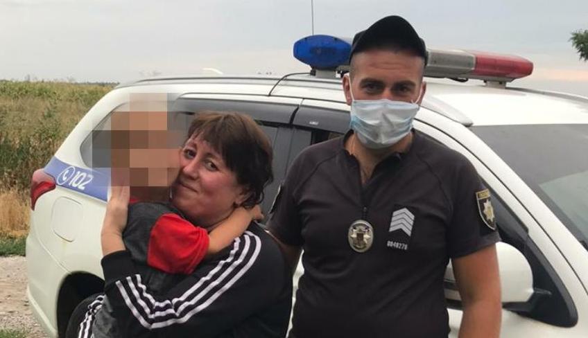 Полицейские разыскали потерявшегося малыша. Новости Днепра
