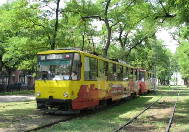 Трамваи временно изменят маршрут. Новости Днепра