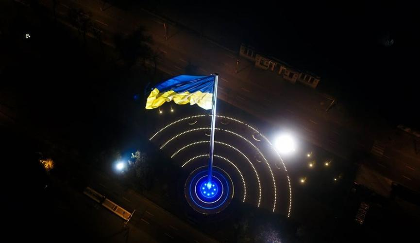 Новости Днепра про От Днепра до Киева: как города Украины соревнуются за звание самого высокого флага