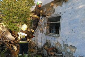 Новости Днепра про В Днепре горел частный дом