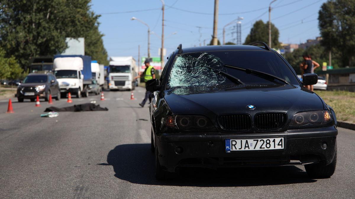 В Днепре водитель насмерть сбил женщину. Новости Днепра