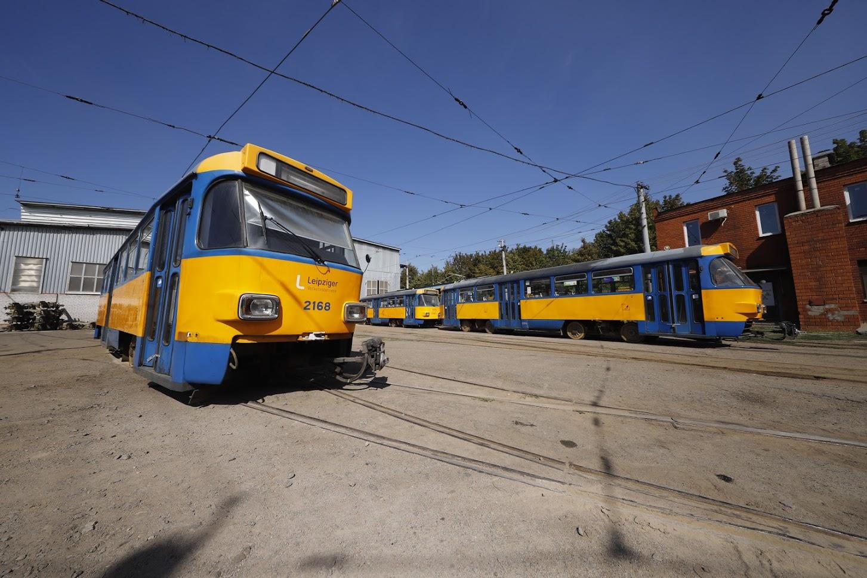 Новости Днепра про В Днепре заменяют устаревшие трамваи на немецкие