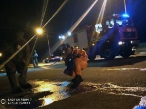 Новости Днепра про Полиция и спасатели в защитных костюмах: что происходило в Днепре