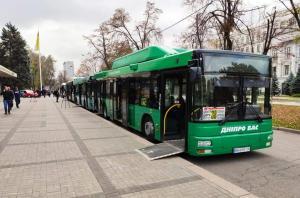 В Днепр прибыли новые автобусы. Новости Днепра