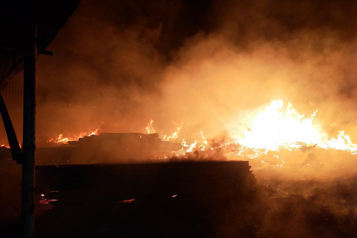 Масштабный пожар на Днепропетровщине. Новости Днепра