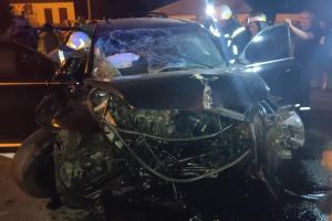 В результате аварии пострадали 4 человека, госпитализировали с места происшествия троих. Новости Днепра