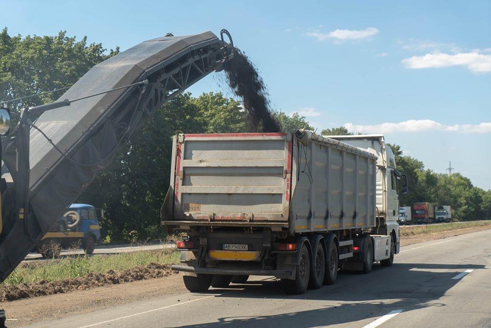 Новости Днепра про Это случилось: начался долгожданный ремонт дороги из Днепра в Кривой Рог