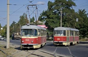 Изменения в движении трамваев №12 и №17 25 августа. Новости Днепра