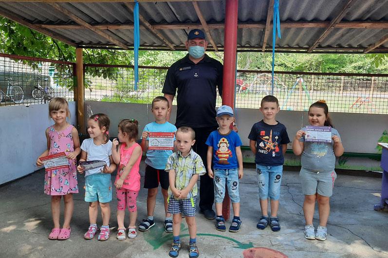 Новости Днепра про Детей учили правилам пожарной безопасности в быту