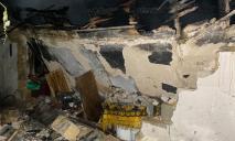 Серьезный пожар: загорелась летняя кухня