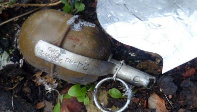 На мусорнике нашли гранату. Новости Днепра