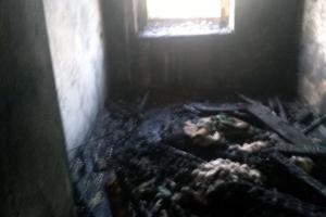 На пожаре пострадал мужчина, его передали медикам. Новости Днепра