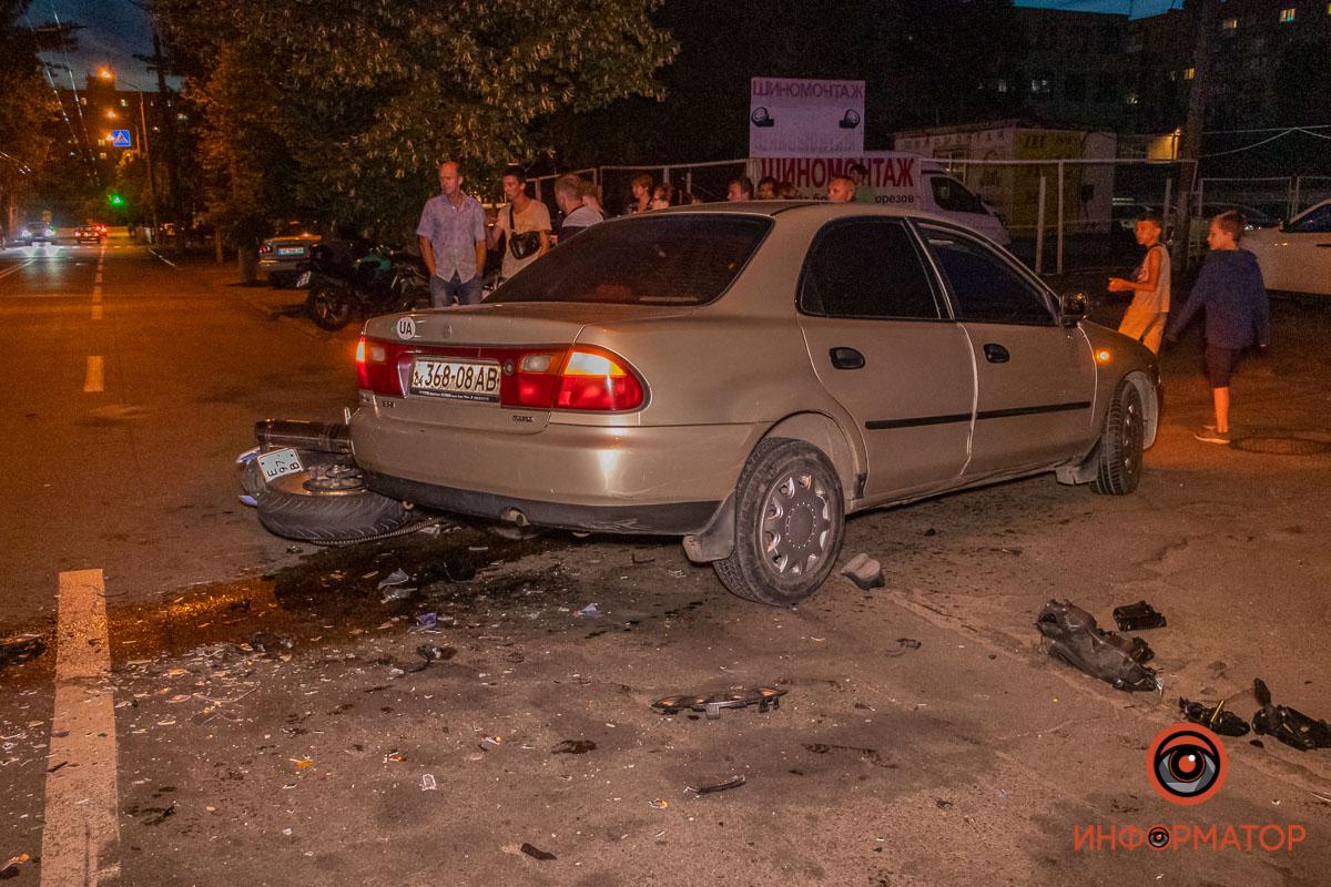 В результате аварии погиб мужчина. Новости Днепра