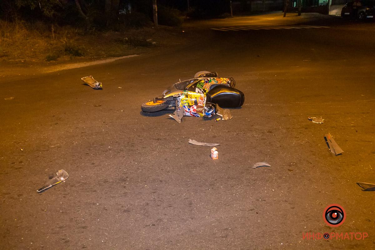 Подростки попали в аварию, один в больнице. Новости Днепра