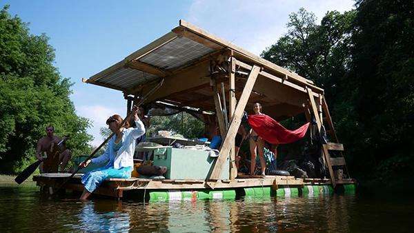Экстремалы совершили очередной сплав по реке. Новости Днепра
