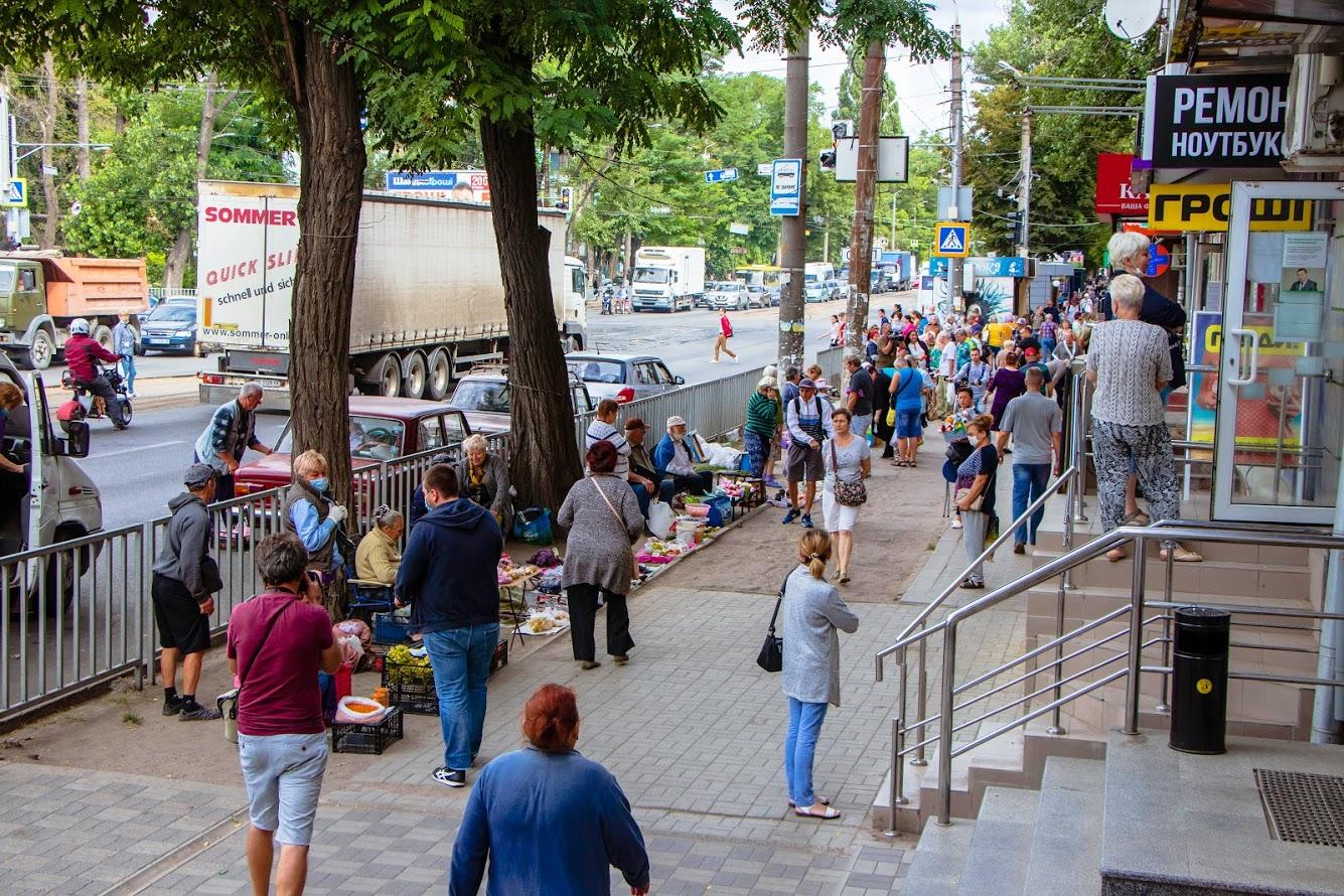 Прошел очередной рейд против уличной торговли. Новости Днепра