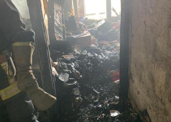 Пожар на Днепропетровщине. Новости Днепра