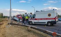 Ужасное ДТП на Полтавском шоссе: опубликованы фото и видео с места происшествия