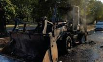 На Днепропетровщине загорелся салон трактора
