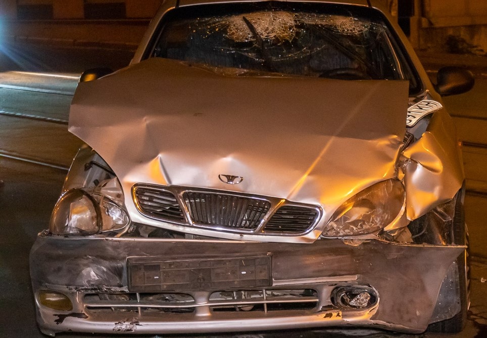 в аварии пострадал мужчина. Новости Днепра