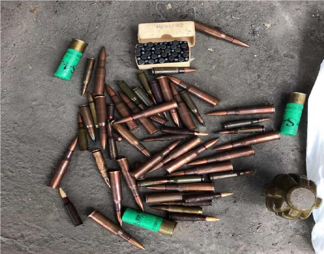 В Днепре правоохранители задержали мужчину с боеприпасами. Новости Днепра