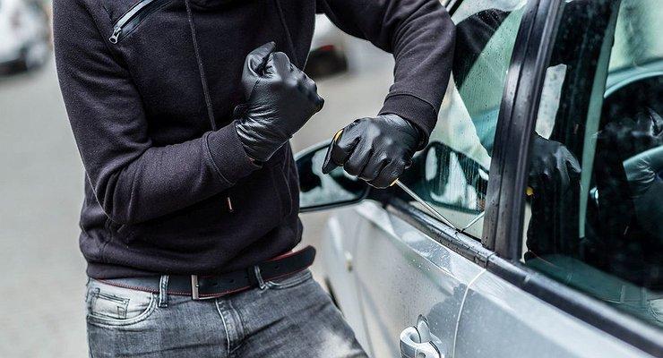 В Днепре полиция задержала автоугонщика. Новости Днепра