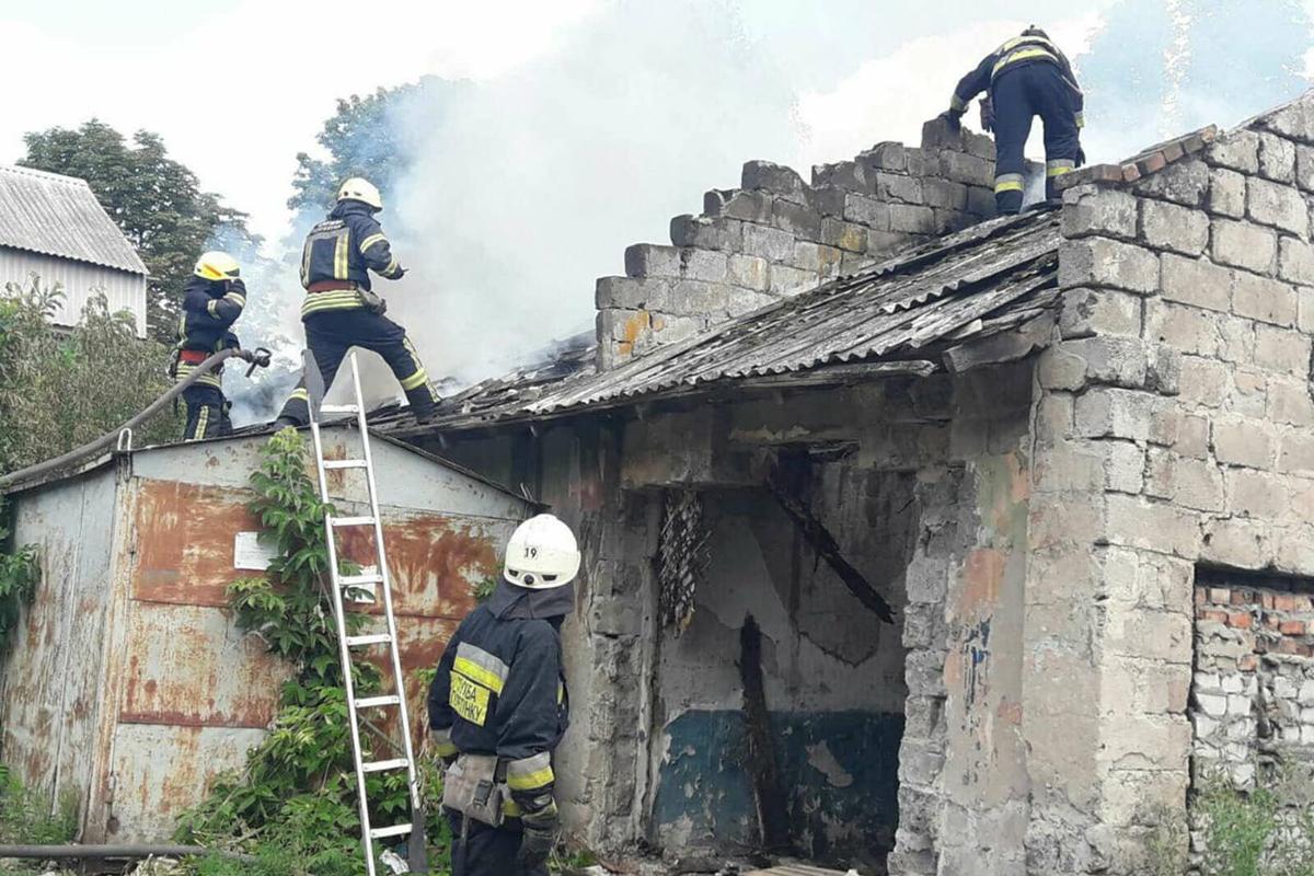 Масштабный пожар в Днепре. Новости Днепра