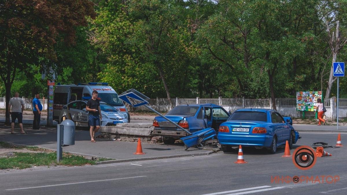 ДТП в Днепре: пострадал парень. Новости Днепра