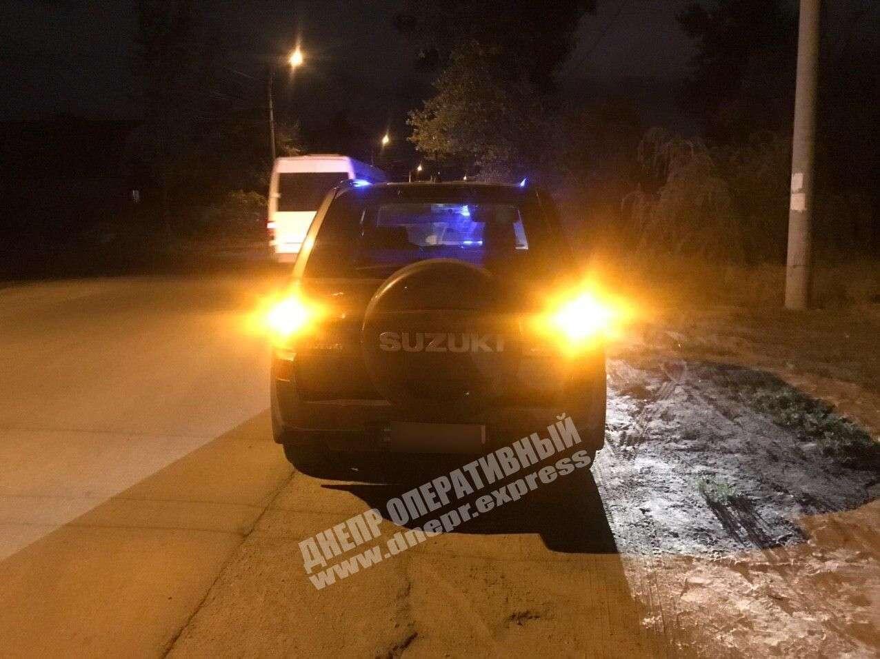 ДТП в Днепре: водитель сбил женщину. Новости Днепра
