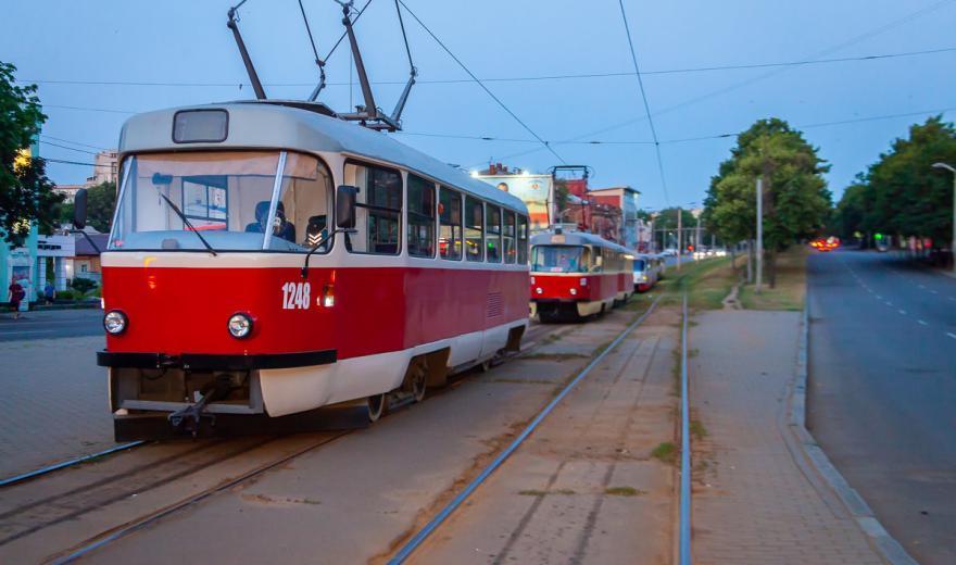 В Днепре временно ограниченно движение трамвая. Новости Днепра