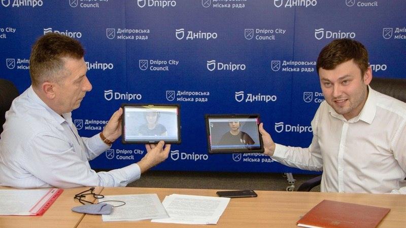 Новости Днепра про В Днепре внедряют проект для людей с нарушением слуха