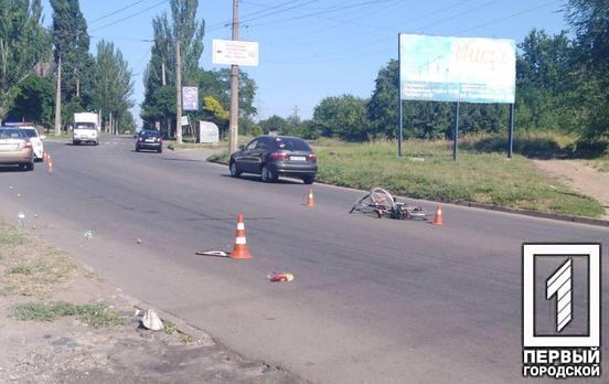 На Днепропетровщине водитель сбил велосипедиста. Новости Днепра