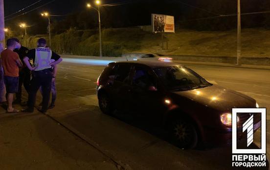На Днепроптеровщине пьяный водитель протаранил машину. Новости Днепра