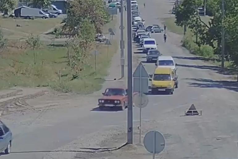 Авария произошла перед понтонным мостом. Новости Днепра