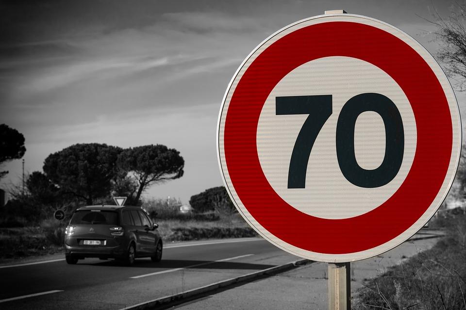 На некоторых улицах разрешено превышать скорость. Новости Днепра