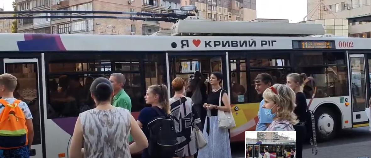 Водитель отказался вести троллейбус из-за нарушения карантина. Новости Днепра