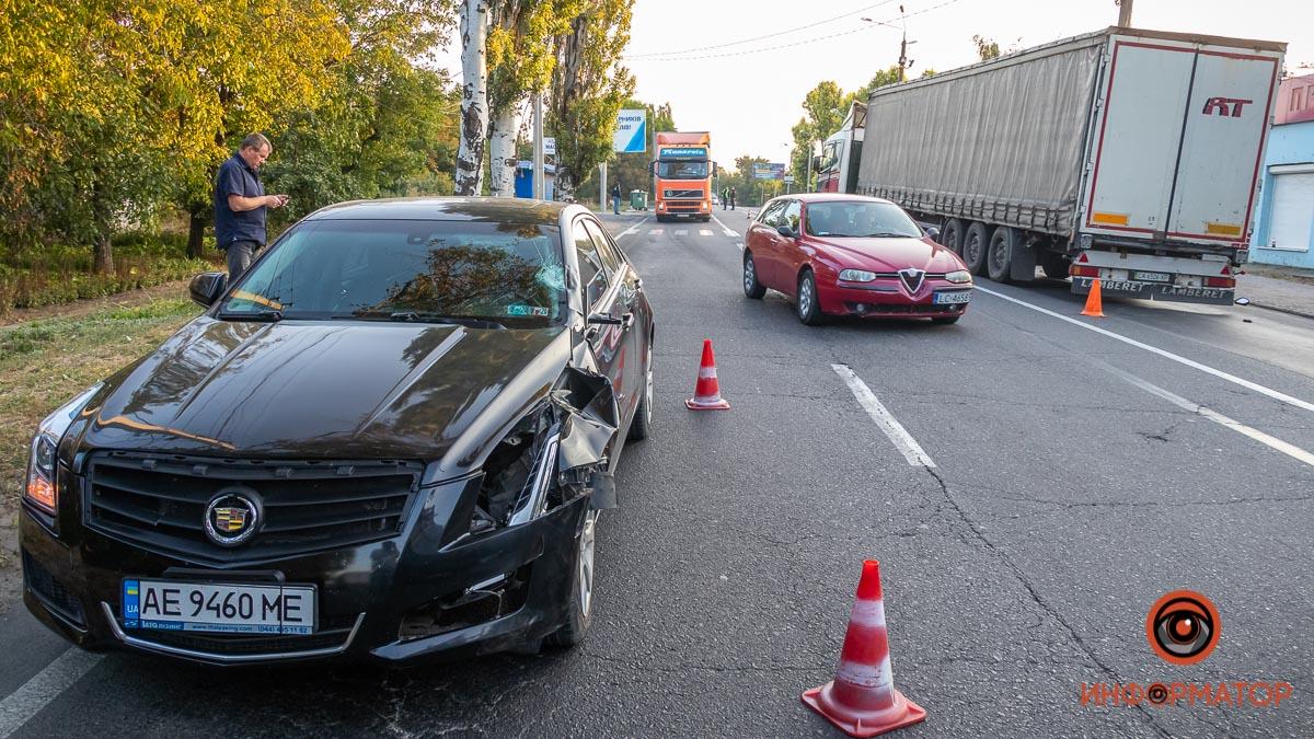 В Днепре авто сбило пешехода. Новости Днепра
