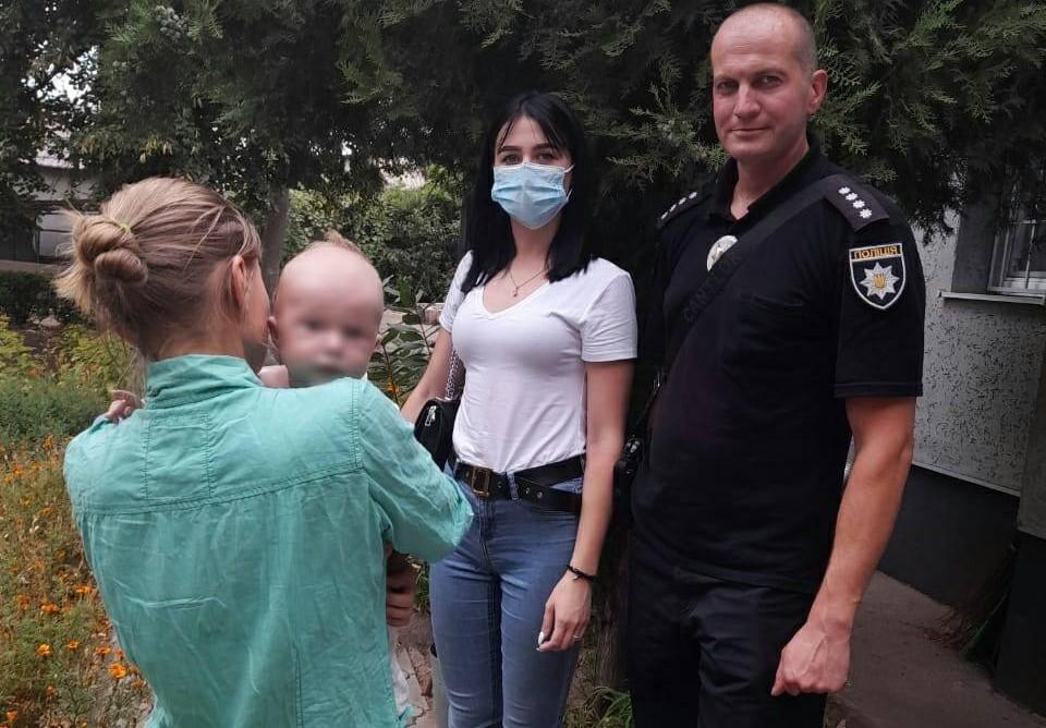 Сбежавший малыш спас семью от побоев. Новости Днепра