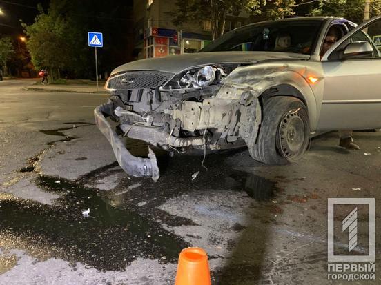 На Днепропетровщине столкнулись два авто. Новости Днепра