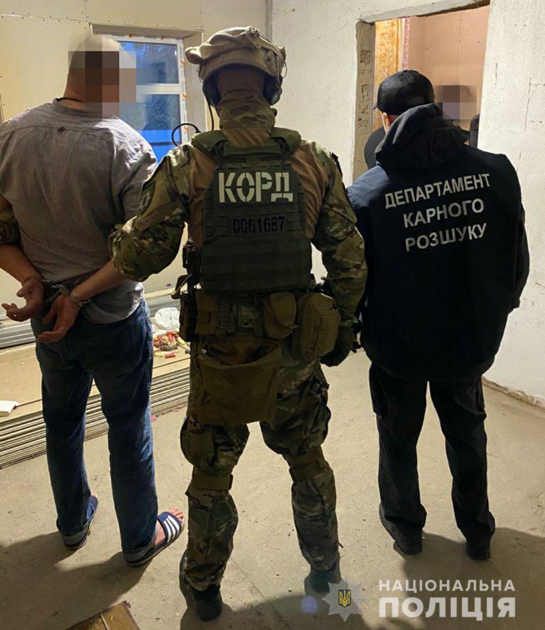 На Днепропетровщине задержали членов банды. Новости Днепра