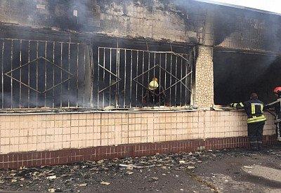 В регионе из-за пожара эвакуировали школьников. Новости Днепра