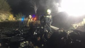 Самолет разбился во время захода на посадку. Новости Украины
