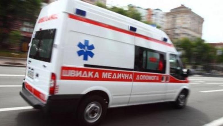 Случилась авария с участием микроавтобуса и велосипеда. Есть пострадавший. Новости Днепра